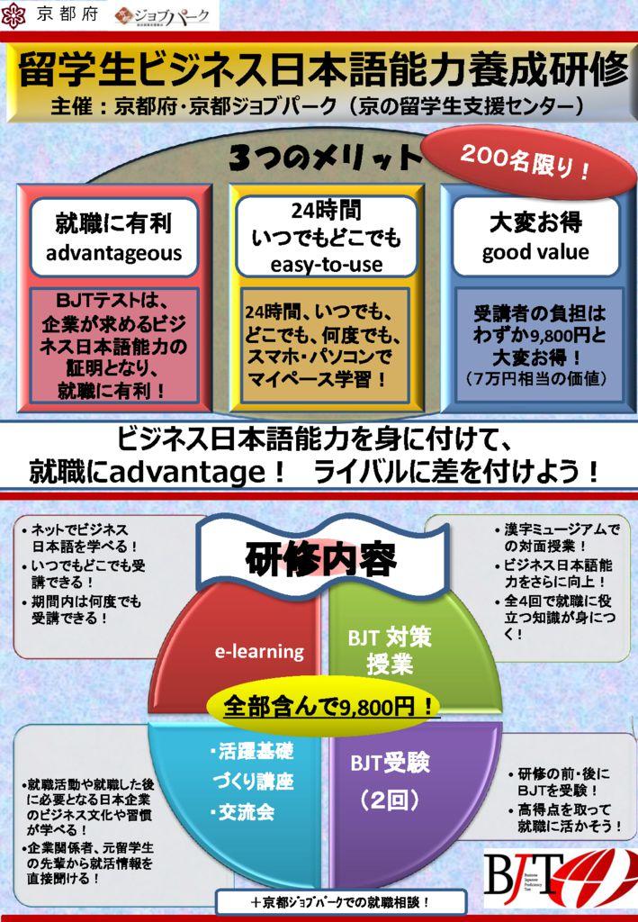 ビジネス日本語チラシのサムネイル