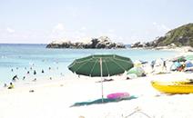 夏:海水浴