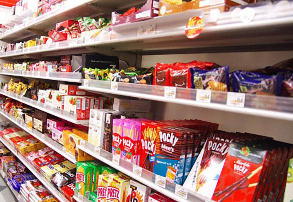 Mua sắm ở siêu thị Nhật