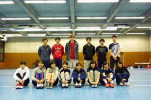 日本の部活でスポーツをしてみよう!<フェンシング部>
